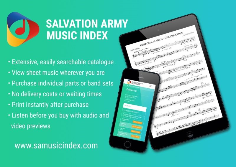 relancamento website salvation army music index