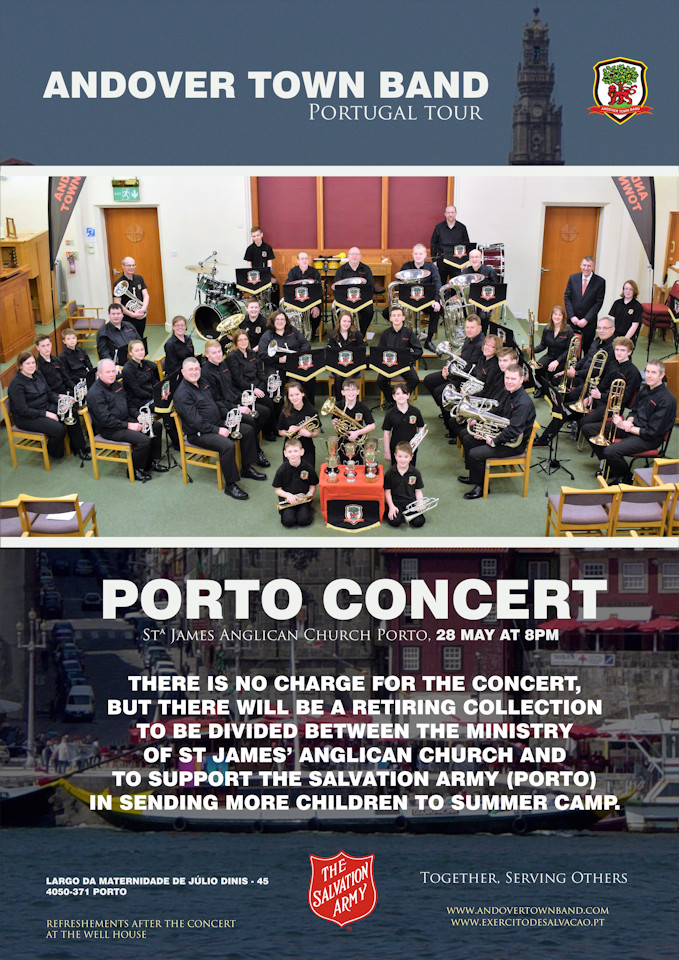 digressao andover town band portugal tour