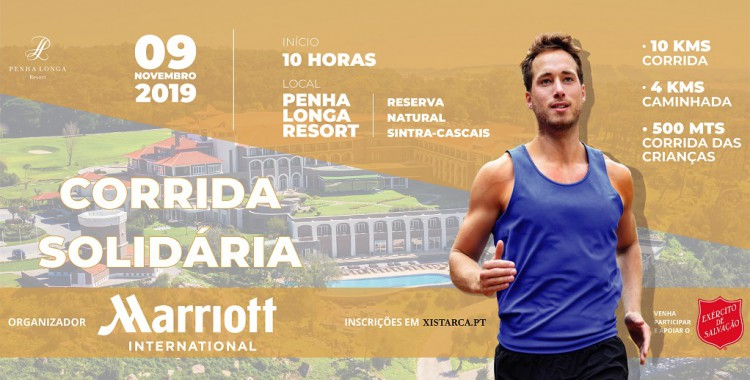 corrida solidaria marriott international portugal 2019