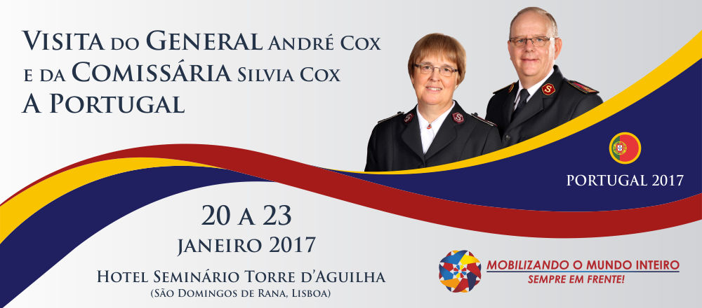 Visita do General e da Comissária Silvia Cox a Portugal